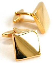 convex-gold-cufflinks