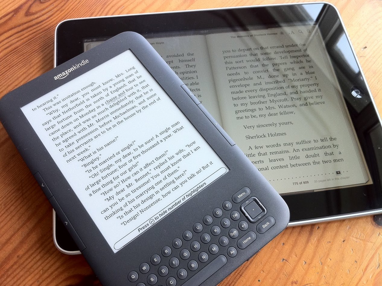 Kindle Vs Sony Reader: Why Kindle Beats The IPad (for Me At Least